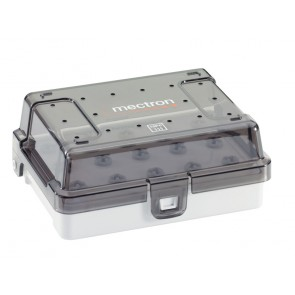 Instrumentenbox mit implant insert tray